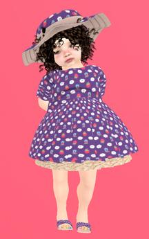 Lexxie Toddleedoo Berries Outfit Kid