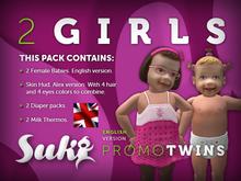Suki Babies Twins (Girl & Girl) (ENG)