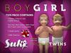 Suki Babies Twins (Boy & Girl) (ENG)