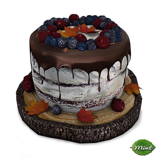 -Mint- Harvest Berry Cake