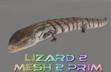 Lizard 2 mesh 2 prim