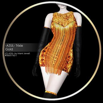 -AZUL- Trixie /Gold