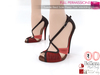 %50WINTERSALE Full Perm Suede Red Sole Peep Toe Wedding Shoes Slink High, Maitreya High, Ocacin, Belleza, High Heel