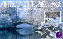 Winter Adventure Park Rally Track
