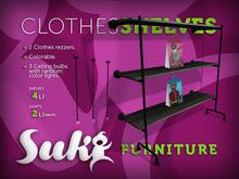 SUKi. Clothes Shelves & Lights