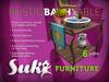 SUKi. Rustic Bath Table 2.0