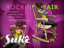 SUKi. Traditional Rocking Chair