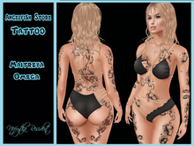 Tattoo Angelfish Storm All Body 2 Color Hud