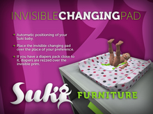 SUKi. Invisible Changing Pad