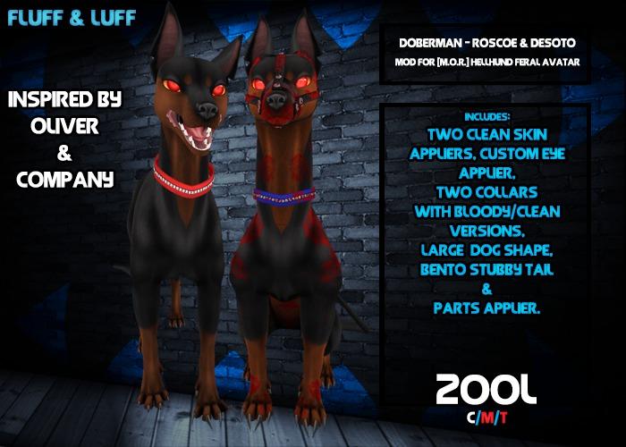 F&L - Roscoe & DeSoto - [M.O.R.] Hellhund Mod  - Clean
