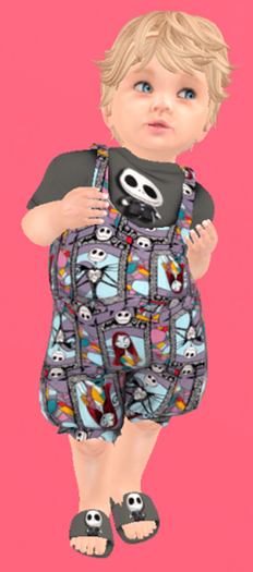 Lexxie Totsipop Infant Halloween Skellington