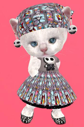 Lexxie Dinkies Skellington Outfit