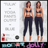 "RD - ""Tullia"" - Yoga Pants Outfit - Blue"