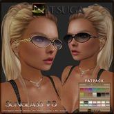 __::NITSUGA::__ Sunglasses #3 FATPACK [HUD 14x14 Textures ]