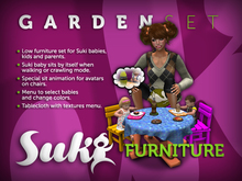 SUKI. Furniture - Garden Set