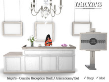Maya's - Camille Reception Desk / Animations / Set