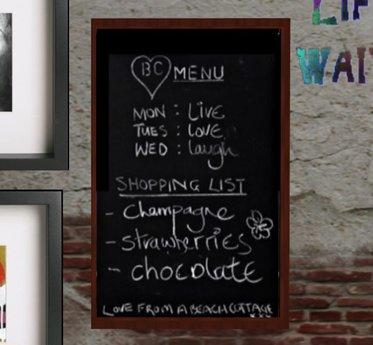 Second Life Marketplace Menu Chalkboard Kitchen Dining Art Accessories