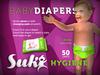 SUKi. Baby Diapers (green)