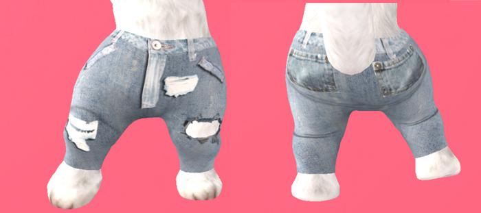 Lexxie Dinkies Stressed Jeans 1