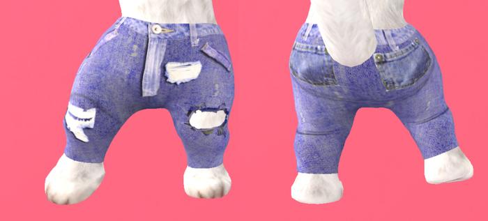 Lexxie Dinkies Stressed Jeans 2