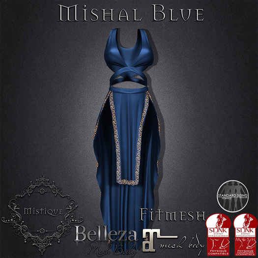 **Mistique** Mishal Blue (wear me and click to unpack)