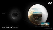 "[WAZ] The ""Mesa"" Globe BOXED"