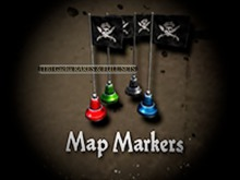 MadPea Captain Burbridge's Booty - Map Markers