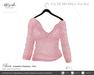 ~Nerido~ Brea Sweatshirt (Maitreya)-Pink