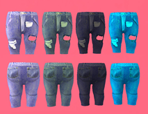 Lexxie Dinkies Stressed Jeans Combo