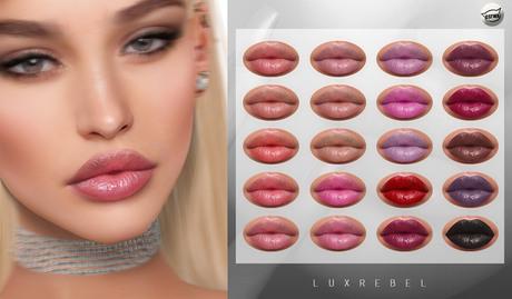 LUXREBEL - Confident Lipstick Pack (CATWA)