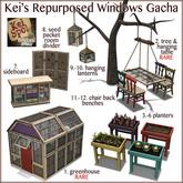 6. Kei's Repurposed Window Gacha (red planter)
