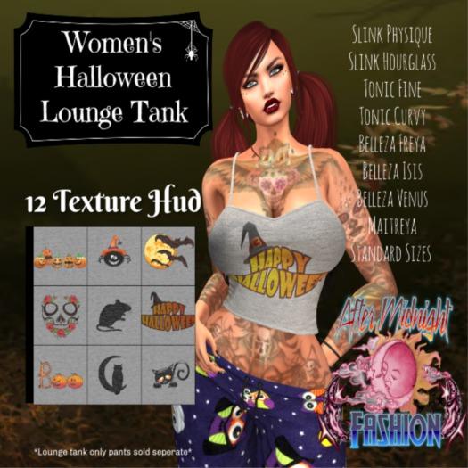 ::AMF:: Women's Halloween Lounge Tank
