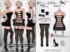 [VM] Harper Mesh Dress Outfit for Belleza [freya,isis,venus], Maitreya, Slink, Hourglass, Tonic Fine&Curvy, EBody Curvy