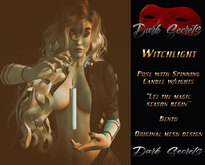 Dark Secrets - Witchlight pose with Light prop BOX