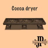 Cocoa dryer [G&S]