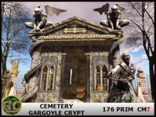 CEMETERY - GARGOYLE CRYPT