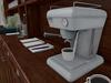 Mesh vintage cafe bar coffee espresso machine
