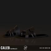 EQUAL - Caleb Sandals BLACK