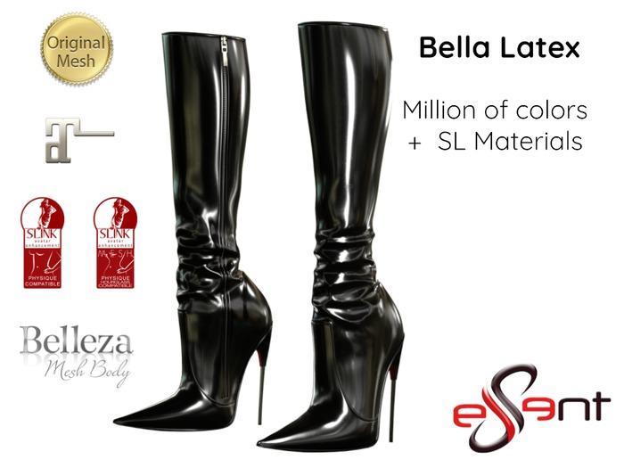 [Essent] Bella Knee-High Boots Latex