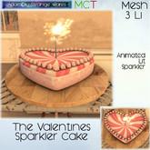 ~ASW~ The Valentines Sparkler Cake