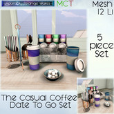 ~ASW~ The Casual Coffee Date To Go Set