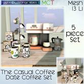 ~ASW~ The Casual Coffee Date Coffee Set
