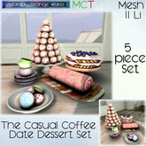 ~ASW~ The Casual Coffee Date Dessert Set