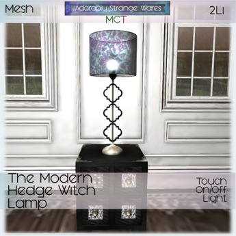 ~ASW~ The Modern Hedge Witch Lamp