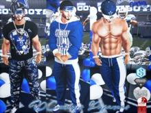 {RC} DCowboys Pajamas Men