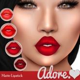 Adore<3 Matte Lipstick-Red