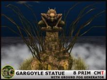 GARGOYLE STATUE FOG GENERATOR