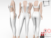 Women's Cleavage Straps Top and Tight Pants Outfit Maitreya, Slink, Belleza, Tonic
