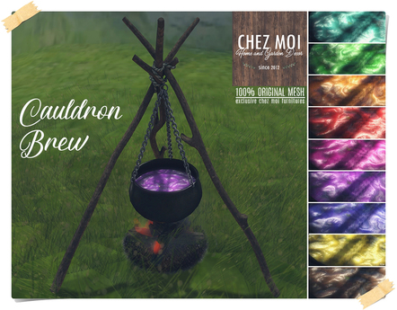 Cauldron Brew ♥ CHEZ MOI