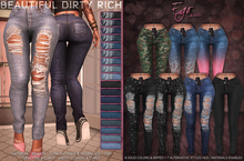 *B.D.R.* Ego -Jeans- / 25 Colors HUD